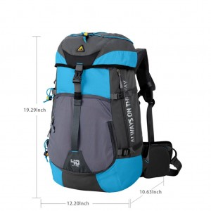 Kimlee Backpacker Internal Frame Hiking Backpack