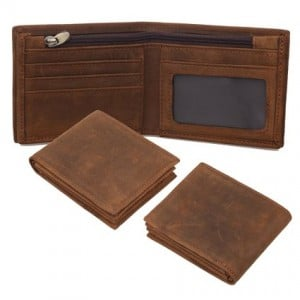 Polare Men's Genuine Natural Leather Wallet