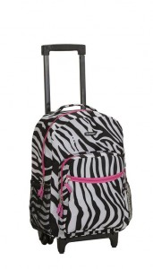 Rockland Luggage Rolling Backpack