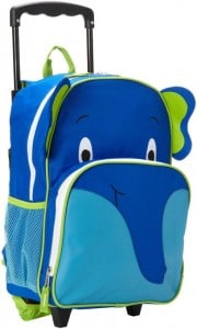 Trailmaker Big Boys Elephant Rolling Backpack