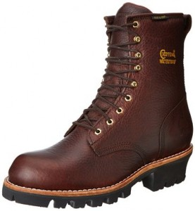Chippewa Men's 8 Inch Briar Insulated Waterproof Logger Rugged Boot
