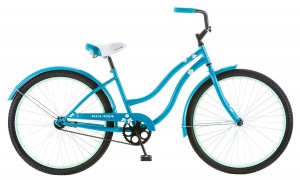 Kulana Women's Cruiser Bike, 26-Inch, Blue