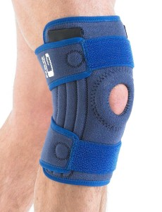 Neo G Medical Grade VCS Stabilized Open Knee with Patella Support- The Ultimate Skiers Support (lots of support & bounce)