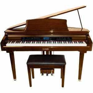 Suzuki MDG-300 Brown Micro Grand Digital Piano