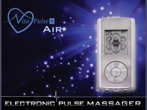 VitaPulse Rx Air - Mini Electronic Pulse Massager - Gift Set - EMS Electronic Muscle Stimulator Device for Muscle Soreness and Muscle Rehabi