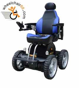 4 Wheel Drive Stairs Climbing Wheelchair with Li-ion Battery Pack. This 4x4 is solely by Wheelchair88, for the rugged adventurers.
