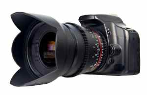 Bower SLY24VDS Ultra-Fast Wide-Angle 24mm T1.5 Digital Cine Lens for Sony Alpha SLR Camera