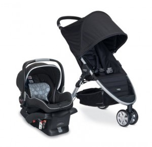 Britax 2014 B-Agile and B-Safe Travel System, Black