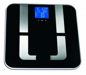 Epica Precision Pro Digital Body Fat Scale 400 lb. Capacity & Auto Recognition Technology