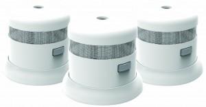 First Alert SMOKE1000-3 Atom Micro Photoelectric Smoke Alarm 3 Pack
