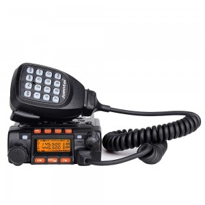 Juentai JT-6188 Dual Band VHFUHF 136-174400-480MHz VHF 25Watt UHF 20Watts Dual Band Two Way Radios Mobile Transceiver Walkie Talkie by Juentai