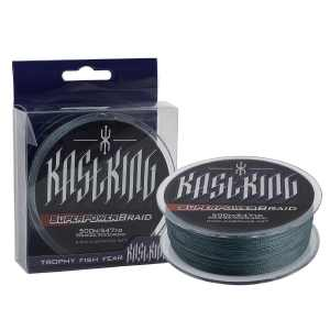 KastKing SuperPower Low-Vis Gray Braid Fishing Line 500M (550 Yards)1000M(1100 Yards) Advanced Superline