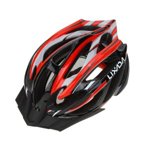 Lixada Bicycle Helmet MtbRoad Bike Helmets Cycling Mountain Racing, Men Women Keep Safety, Adult Child Kids, with 21 Vents Adjustable Ultralight Integrall