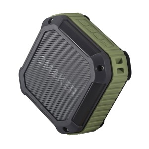 Omaker M4 Portable Bluetooth 4.0 Speaker with 12 Hour Playtime for OutdoorsShower (Army Green)