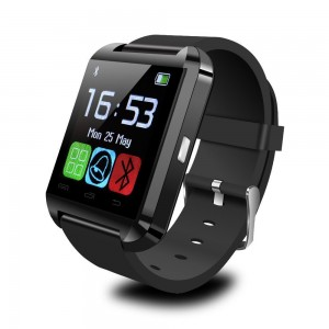 Padgene Bluetooth 4.0 Smart Watch Bracelet for Samsung S5  Note 2  3  4, Nexus 6, HTC, Sony and Other Android Smartphones, Black