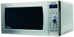 Panasonic NN-SD997S Genius Prestige 2.2 cuft 1250-Watt Sensor Microwave with Inverter Technology & Blue Readout, Stainless Steel