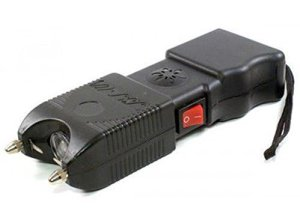 Police 53,000,000 Heavy Duty Stun Gun Flashlight & Siren Rechargeable
