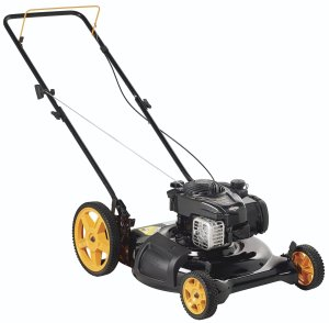 Poulan Pro 961120131 PR500N21SH Briggs 500ex Side DischargeMulch 2-in-1 Hi-Wheel Push Mower in 21-Inch Deck