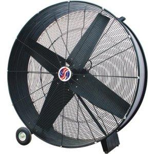 Q Standard Industrial Direct-Drive Drum Fan - 30in., 12 HP, 9100 CFM, Model# 10380