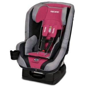 RECARO 2015 Performance Ride Convertible Car Seat, Rose