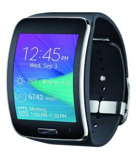 Samsung Gear S Smartwatch, Black 4GB (AT&T)