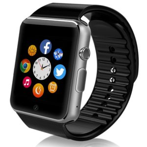 Smart-watch Sweatproof Smart Watch Phone bluetooth 4.0Easy connection Make callsSupport SIMTF for Apple Iphone 5s66s and 4.2 Android or Above SmartPhones