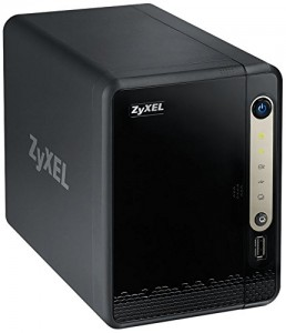 ZyXEL 2-Bay Network Attached Storage and Media Server (NSA320S)