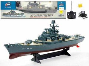 23 Ht Radio Control Rc Battle Warship Boat Cruiser Destroyer