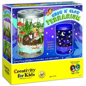 Creativitiy for Kids - Grow 'n Glow Terrarium - Educational Toys