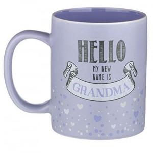Grasslands Road Hello My New Name Is Grandma Mug