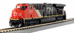 Kato USA Model Train Products GE ES44AC Gevo Canadian National #2814