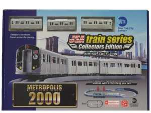 LEC USA 2000 MTA New York City Subway Battery Operated Train Set
