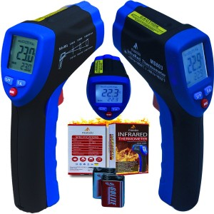 Maxsio High Quality MS803 Non-Contact Infrared Temperature Thermometer-Gun-Style-D