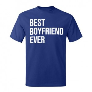 Men's Best Boyfriend Ever Graphic T-Shirt