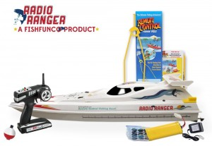 Radio Ranger ll 34 Remote Control Fishing Boat UPGRADED 2.4Ghz Remote System