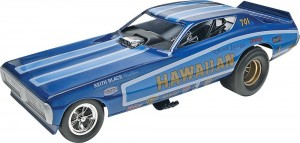 Revell Hawaiian Charger Funny Car Plastic Model Kit