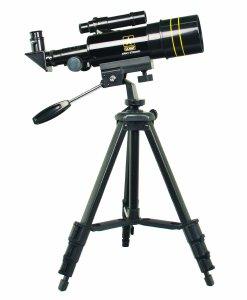 U.S. Army US-TF30060 Refractor Telescope 300x60 (Black)