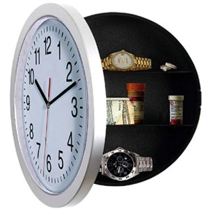Wall Clock, UNIQUE GIFT, Large, White, Kitchen,Clock, Modern, with 10 inch Face