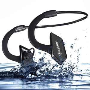 Waterproof IP66 Sweatproof Outdoors Sports Wireless Headsets KAYSION Bluetooth V 4.1