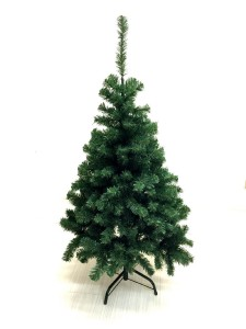 Xmas Finest 4' Feet Super Premium Artificial Charlie Pine Christmas Tree w Metal Legs - Fullest (400 Tips) Four Foot Design