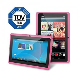 Chromo Inc 7 Tablet Google Android 4.4 with Touchscreen, Camera, 1024x600 Resolution, Netflix, Skype, 3D Game Supported