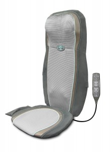 Homedics 2-in-1 Gel Shiatsu Back and Shoulder Massage Cushion with Technogel Massage Nodes