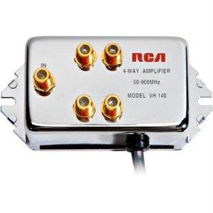 RCA 4-Way 10dB Video Signal Amplifier