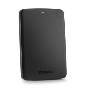 Toshiba Canvio Basics 1TB Portable Hard Drive - Black (HDTB310XK3AA)