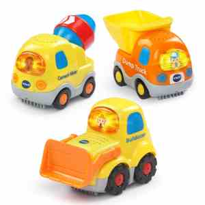 VTech Go! Go! Smart Wheels - Construction Vehicles 3-pack