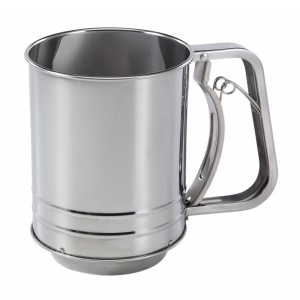 Baker's Secret 3-Cup Stainless Steel Flour Sifter