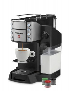 Cuisinart EM-600 Buona Tazza Superautomatic Single Serve Espresso Caffe Latte Cappuccino Machine