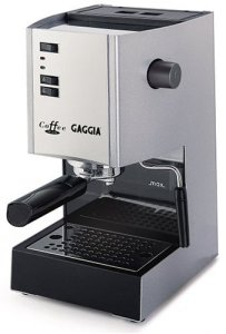 Gaggia 97001 Coffee Deluxe Espresso Machine with Automatic Milk Frother