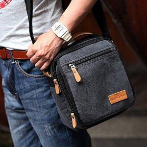 Ibagbar Durable Canvas Shoulder Bag Messenger Bag ipad Bag Work Bag Business Bag Purse School Bag Book Bag Daypack Bag Multifunction Bag Handbag Crossbody Bag Satchel Bag Fanny Bag Casual Bag