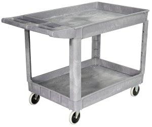 Maxworks 40107 Industrial Polypropylene Service Cart